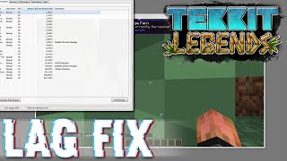 Tekkit Legends Tutorial - Extreme Chunk Loading Lag Fix (0 to 100+ FPS) & How To Install Optifine