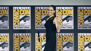 Angelina Jolie joins Marvel, confirms role at Comic Con San Diego event