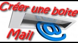 Créer une boite mail