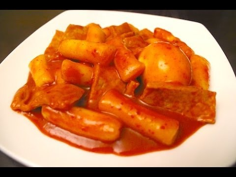 How To Make Korean Spicy Ricecakes Ddukbokki 떡볶이 Youtube