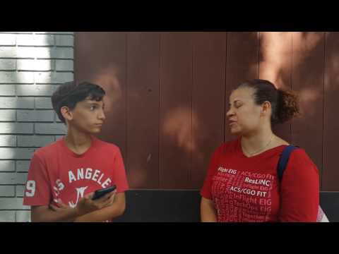 Leonardo G. Ann street school interview