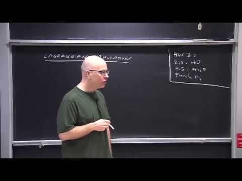 13 - (Chapter 4) Lagrangian and Hamiltonian Formulations of