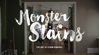 """Persil presents """"Monster Stains"""" - The Art of Stain Removal"""