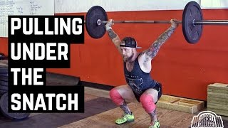 Tips for Pulling Under The Bar When Snatching