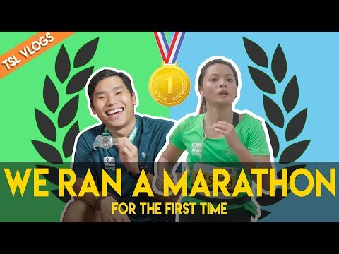 WE COMPLETED A 42KM MARATHON FOR THE FIRST TIME | TSL Vlogs