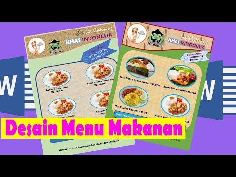 cara-mudah-membuat-menu-makanan-di-word-2016-||-desain-menu,-brosur-di-word