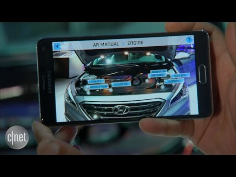 Car Tech - Hyundai's Augmented Reality app overhauls the owners manual