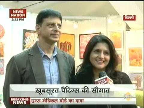 India Art Festival NewsNation 02 22pm Jan15 02min32sec