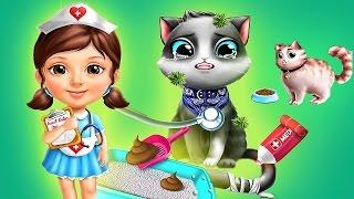 Sweet Baby Girl - Cat Doctor Fun Little Kitten - Animal Care Games