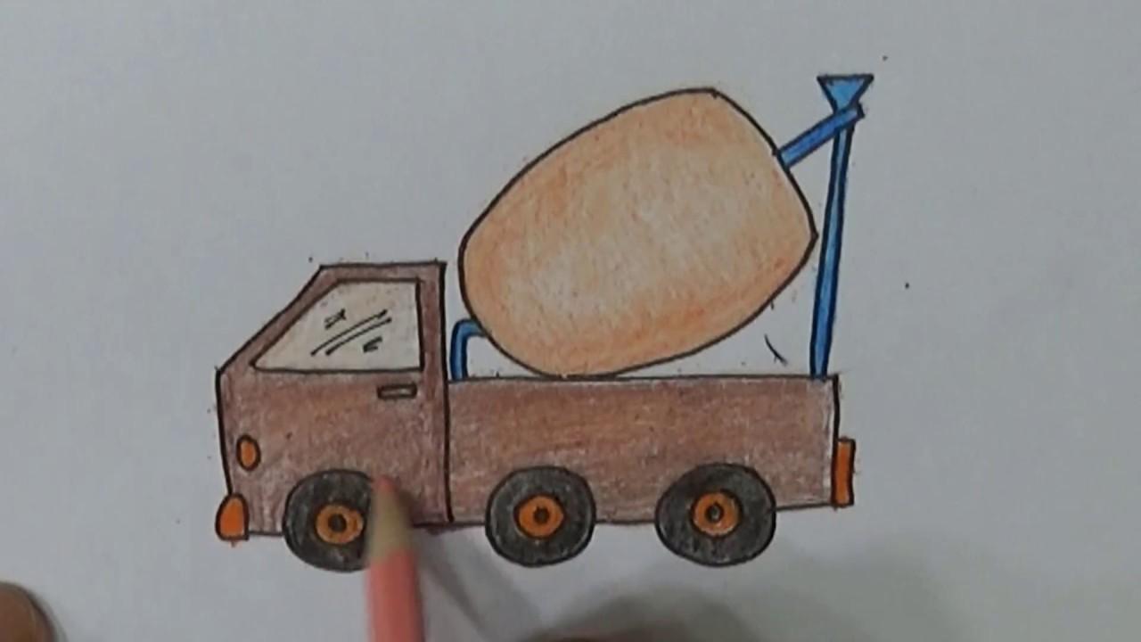 Belajar Cara Menggambar Dan Mewarnai Menggunakan Pensil Dengan Mudah