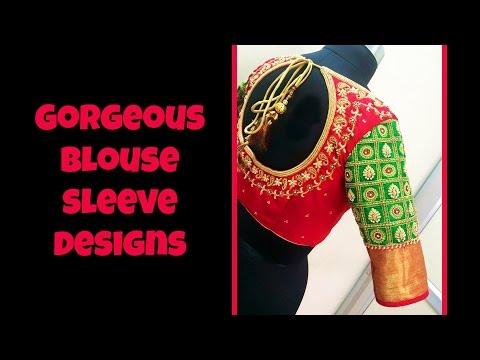Gorgeous Blouse Sleeve Designs 2017
