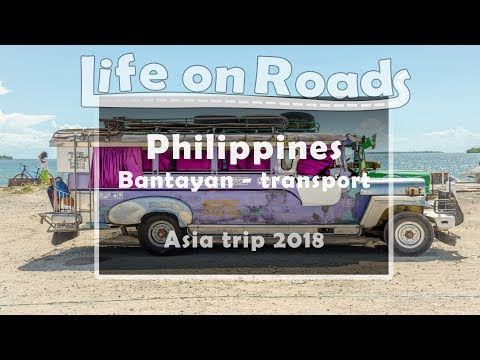 Philippines - Bantayan Island - transport / EN subtitles