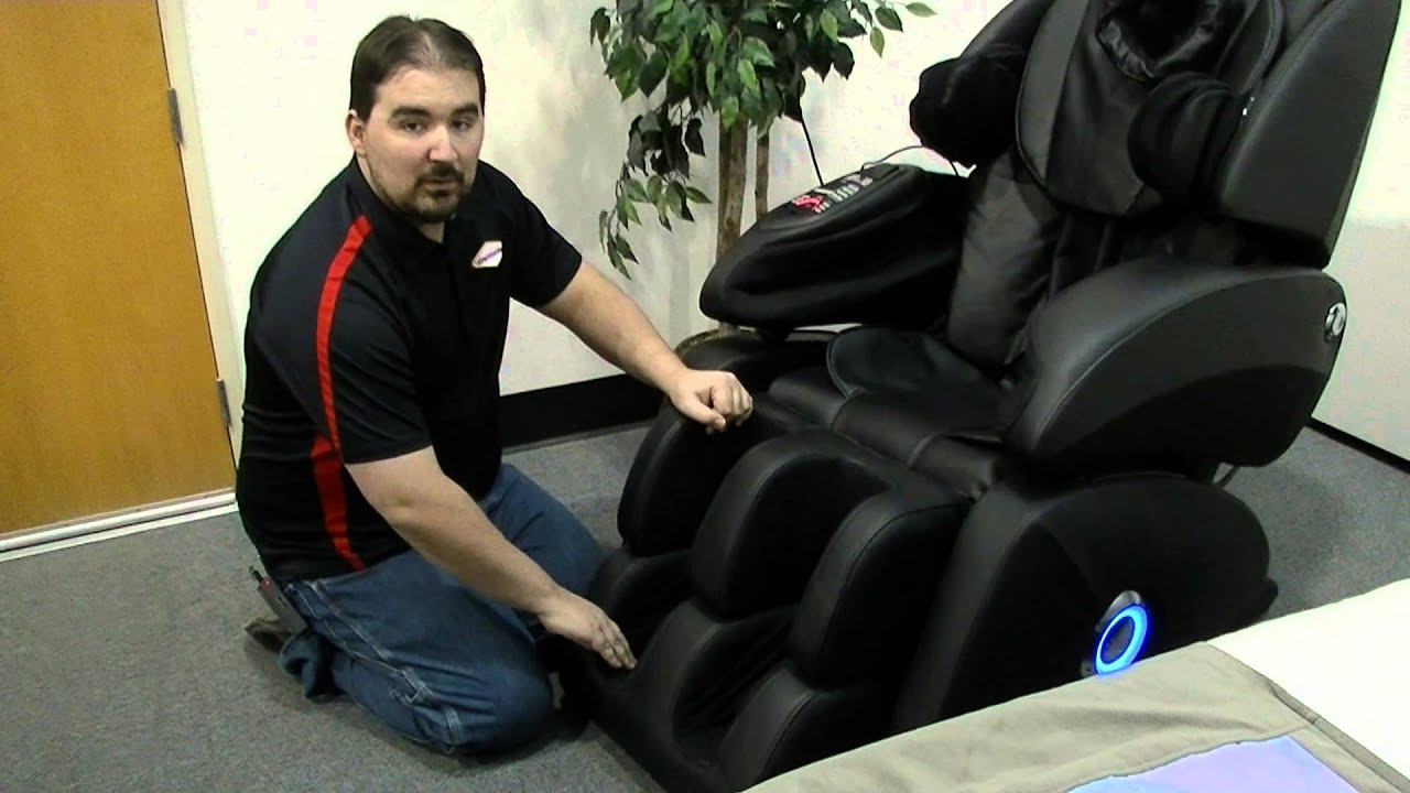 Osaki OS 7075R Massage Chair Review   Foot Massage Rollers Feature