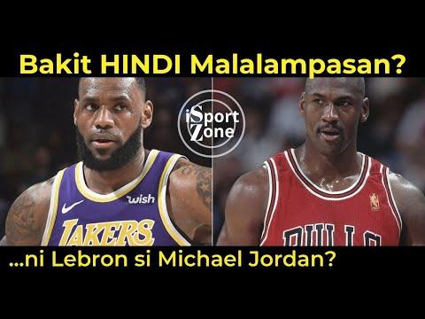 Bakit HINDI Malalampasan ni Lebron James si Michael Jordan? Usapang NBA GOAT.