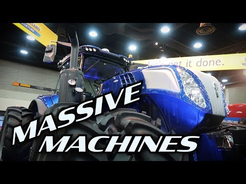 BOSS Machines at the National Farm Machinery Show 2019 - fixed