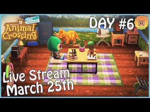 Animal Crossing: New Horizons - Day 6 (LIVE STREAM)