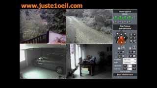 Vidéosurveillance à distance depuis votre PC - www.juste1oeil.com - HD