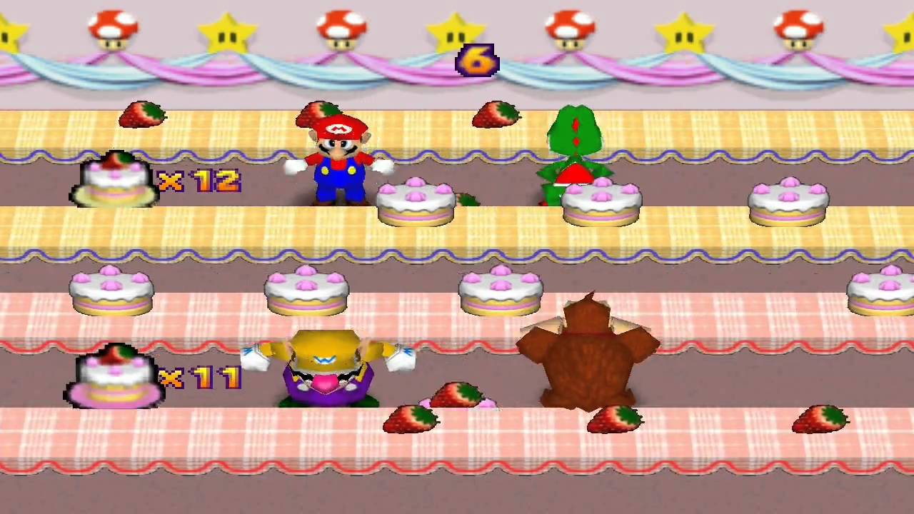 Mario party games on the computer