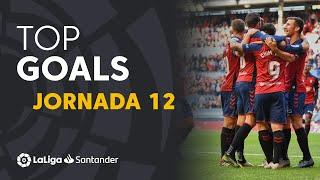 Todos los goles de la Jornada 12 de LaLiga Santander 2019/2020