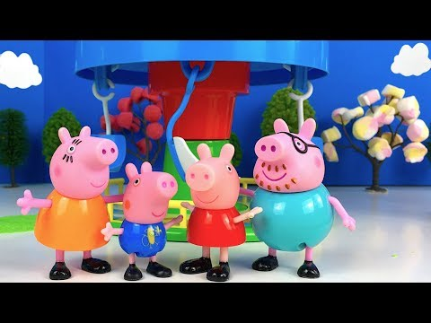 story-with-peppa-pig---peppa-and-her-family-go-to-the-amusement-park