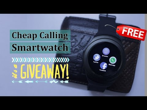 Free CHEAP CALLING SMARTWATCH T11: Giveaway & Unboxing | Whatsapp & Facebook, Call & Audio Feature