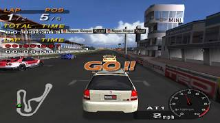 HONDA CIVIC vs. JGTC!! |Tsukuba Circuit| DRIVING EMOTION TYPE-S PCSX2