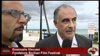 Intervista di Rai International ad Emanuele Viscuso, Presidente del Sicilian Film Festival