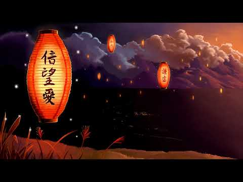 Japanese Violin Music | Lanterns | Beautiful Instrumental Japanese Music
