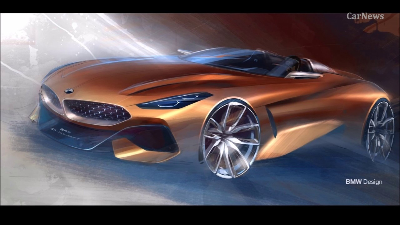 Bmw Z4 Concept 2019 Interior Exterior And Drive Carnews Youtube