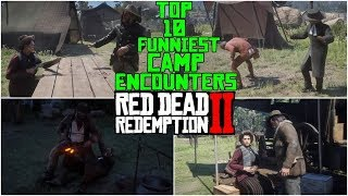 Top 10 Funniest Camp Encounters in Red Dead Redemption 2