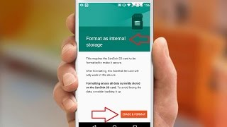 How to Format SD Card as Internal Storage in Android Phone