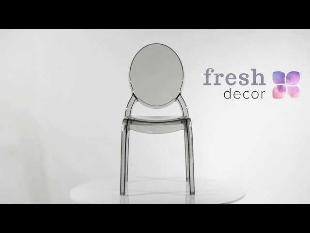Стул Louis Ghost Victoria дымчатый, удобный и качественный стул . Стулья для дома, ресторана и кафе.