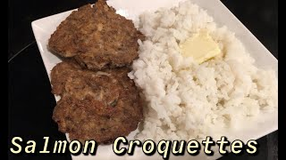 How to Make: Salmon Croquettes