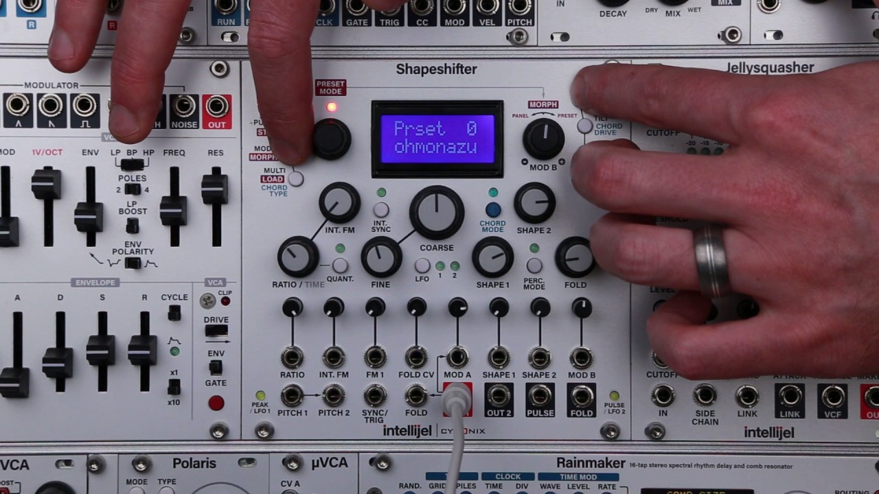 how to check latest firmware on intellijel shapeshifter