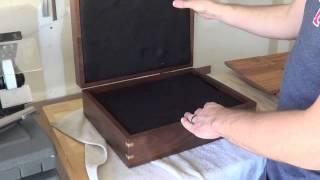 Walnut Gun Box
