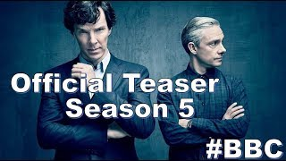 Шерлок 5 Сезон Официальный Трейлер Тизер Sherlock Season 5 Official Teaser #BBC
