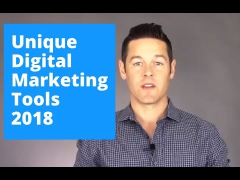 Unique Digital Marketing Tools Pros Don't Always Share – 2018