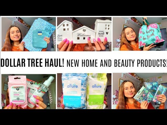 DOLLAR TREE HAUL | NEW HOME AND BEAUTY ITEMS at Dollar Tree January 2020