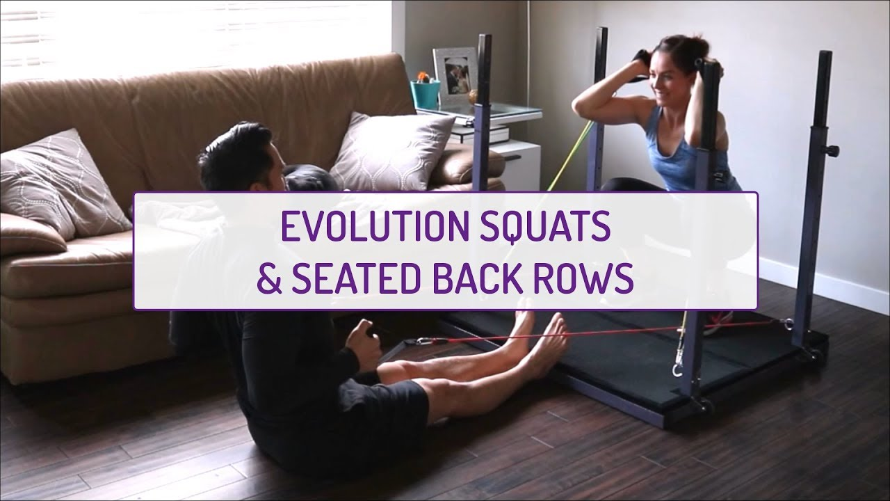 Partner Exercises | Evolution Squats and Seated Back Rows