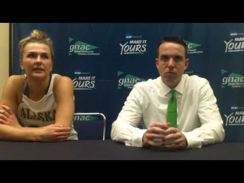 GNAC Basketball Championships - Alaska Anchorage Women Postgame Press Conference, Mar. 3, 2017