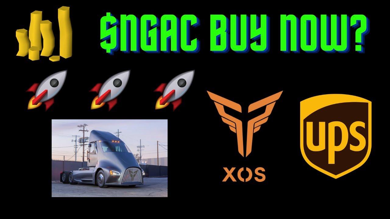 Download NextGen Acquisition Stock (NGAC stock) Next Big EV SPAC? Merger with Xos Trucks! UPS Partnership?