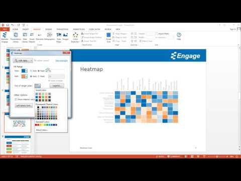 Create Heatmap Using The En Powerpoint Add