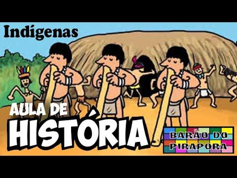 Aprendendo com Videoaulas: História: Os Índios