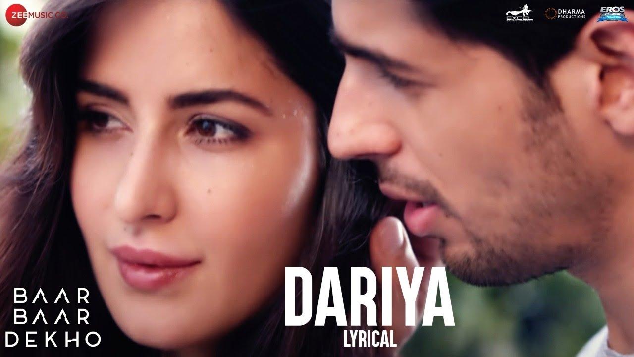 Download Dariya - Lyrical Video | Baar Baar Dekho | Sidharth Malhotra & Katrina Kaif | Arko