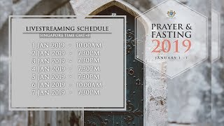7 Days Prayer and Fasting 2019 | Day 6 (Sunday Service)