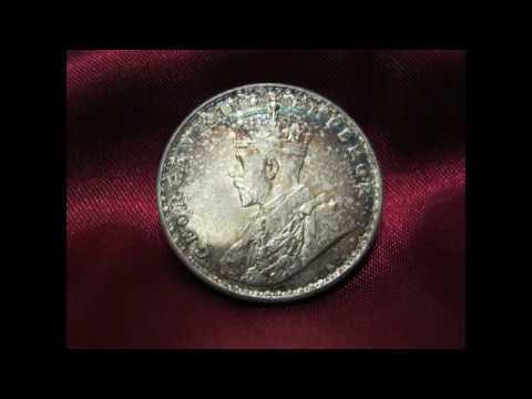 История в монете. Рупия 1918.