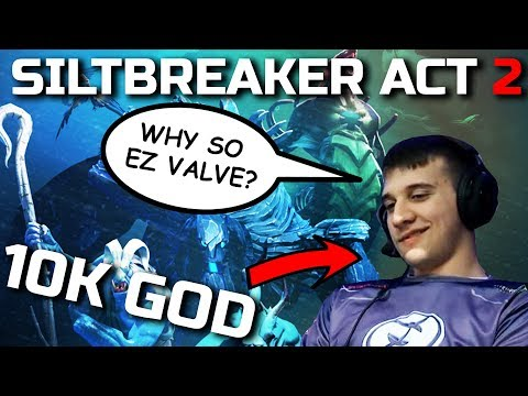HOW TO WIN Siltbreaker ACT II - EZ by Arteezy - FINAL BOSS DEFEATED !! Dota 2