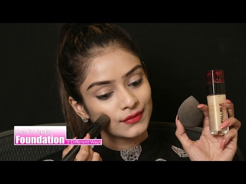 How To Apply Apply Foundation In three Different Ways Tutorial