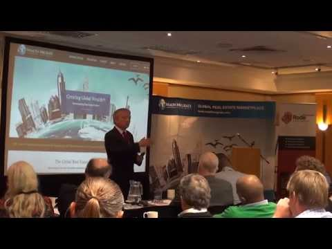 Dr Dolf de Roos, speaks at 2014 Rode - REIM, Cape Town Conference
