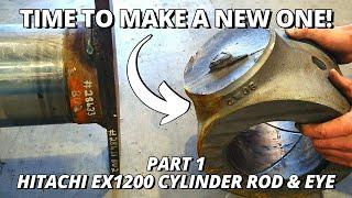Download Making a BIG Hydraulic Cylinder Rod & Eye | Part 1